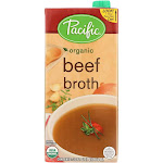 Pacific Natural Foods Beef Broth - 32 Fl Ounce - PACK OF 60