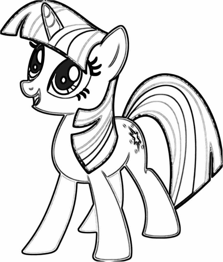 Twilight Sparkle Princess My Little Pony Coloring Pages ...