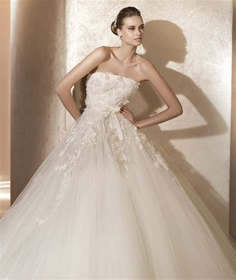 Elie Saab 2012 Pronovias Spring Bridal Collection   The