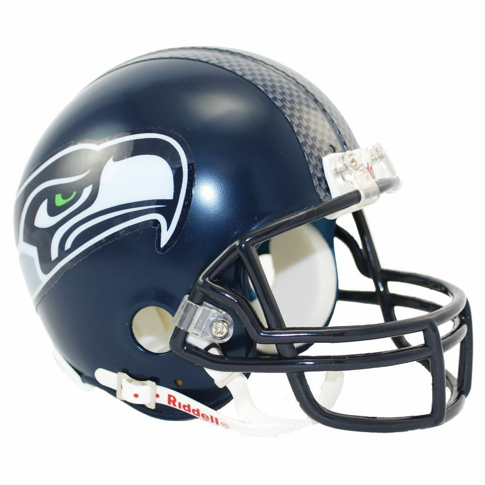 Seattle Seahawks Riddell VSR4 Mini Helmet Free Shipping! eBay