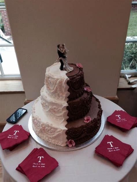 Wedding cake done by publix wonderful one side German