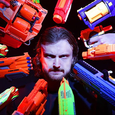 """John Wick 2"" Re-Shot With Nerf Guns is Freaking Amazing  - Core77"