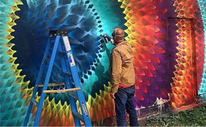 Kaleidoscopic Street Art By Douglas Hoekzema
