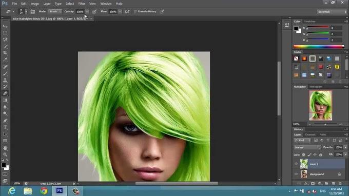 Hair Cutting In Photoshop Cs6