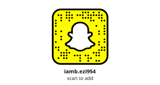 Add me on Snapchat! Username: iamb.ezi954