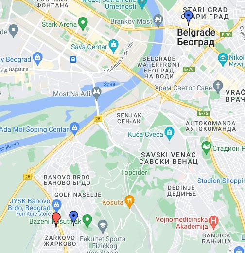 mapa beograda google Milan Stankovic   Google+ mapa beograda google