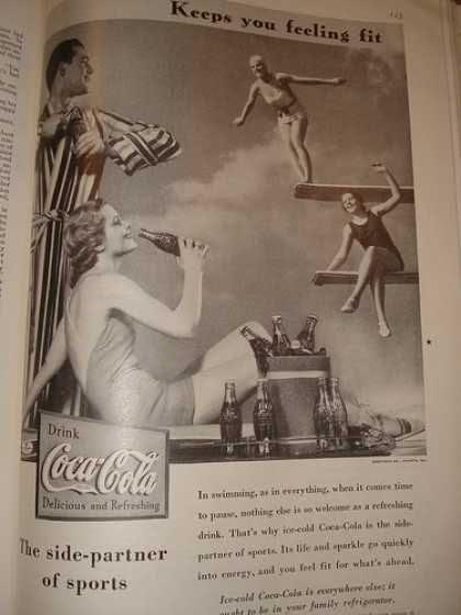 1930 Vintage Coca Cola Ad