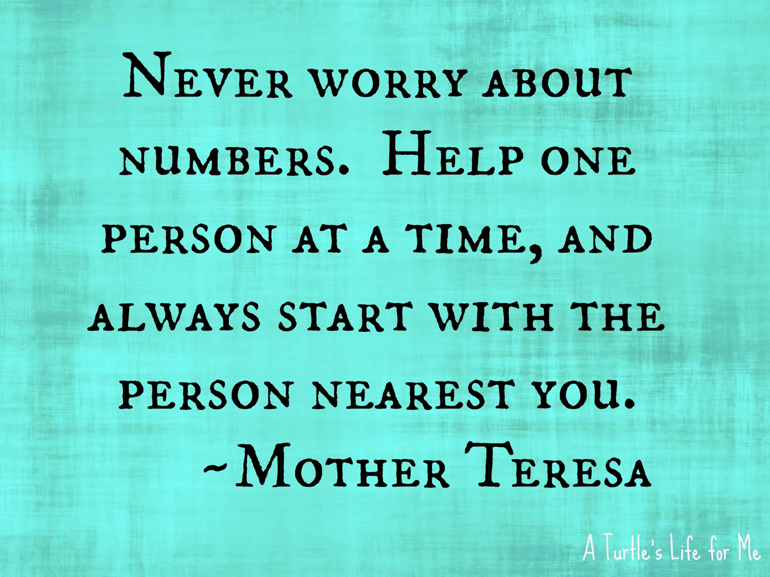 Mother Teresa On Kindness Quotes. QuotesGram