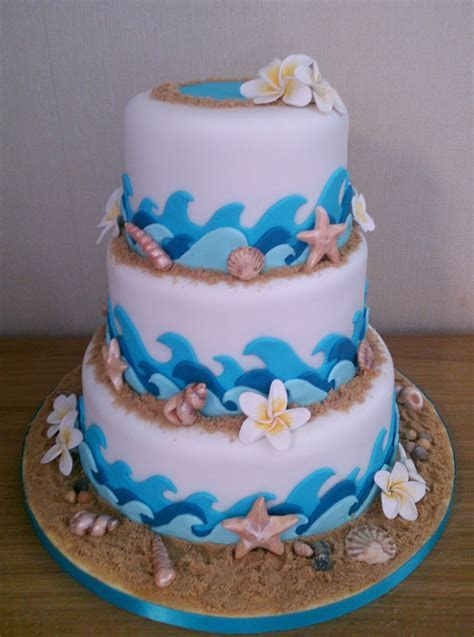 Kite Surf Beach Themed Novelty Wedding Cake « Susie's Cakes