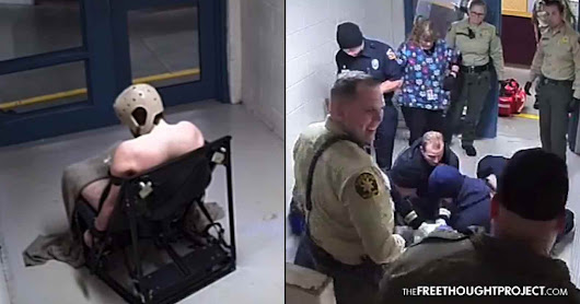 WATCH: Cops Torture Mentally Ill Man in Restraint Chair for 2 Days, Laugh as He Dies in Front of Them