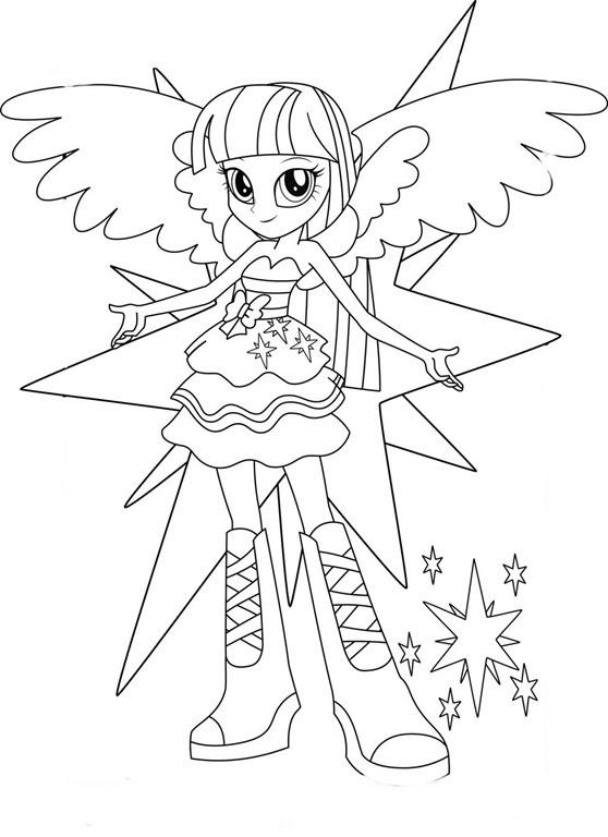 equestria girls_my_little_pony_desenhos para colorir pintar_imprimir 2