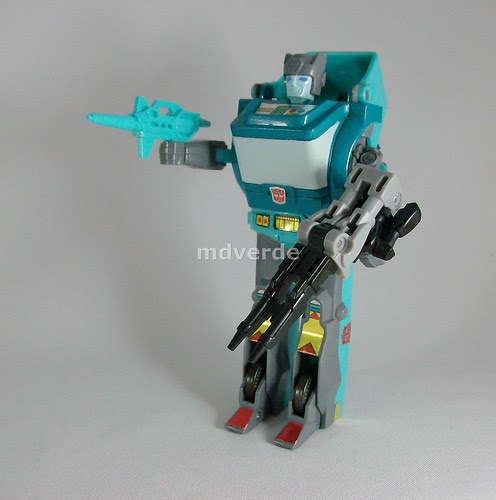 Transformers Targetmaster Kup G1 Reissue - modo robot (by mdverde)