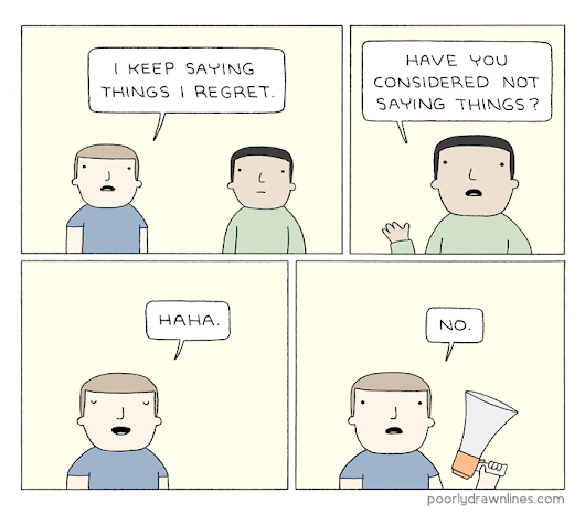 Poorly Drawn Lines – Saying Things