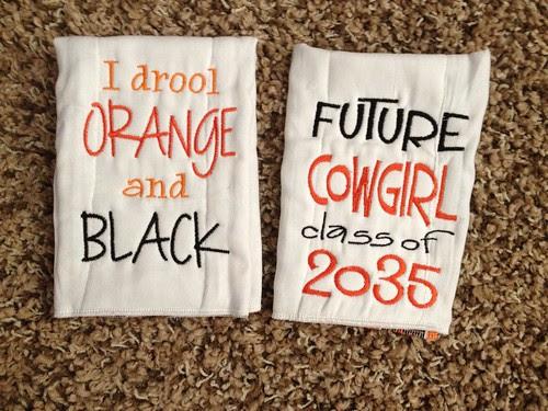 OSU Burp Cloths 1