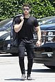 nick jonas shows off his buff biceps in a tight t shirt 01