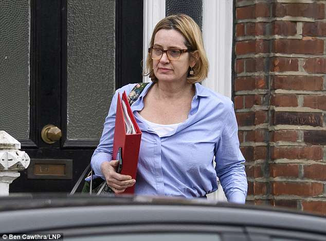 Home Secretary Amber Rudd shocked Westminster last night by resigning over the raging Windrush scandal