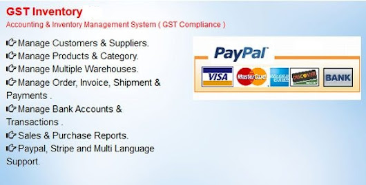 GST Inventory - Accounting & Inventory Management System(GST Compliance) - Theme88.Com – Free Premium Nulled Cracked Themes & Plugins & PHP Scripts and More