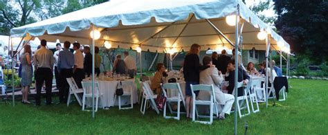 Private Party And Backyard Tent Rental Chicago IL, Outdoor
