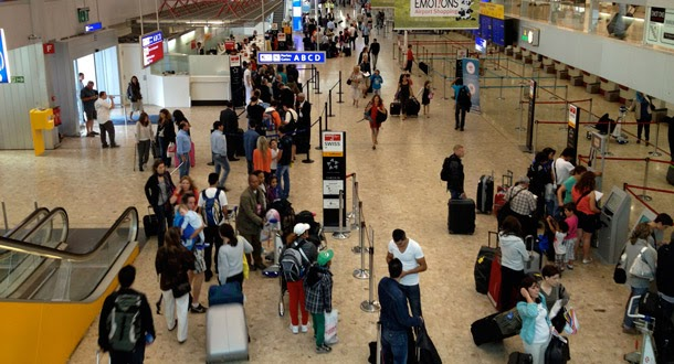Bomba em aeroporto 'inventada'