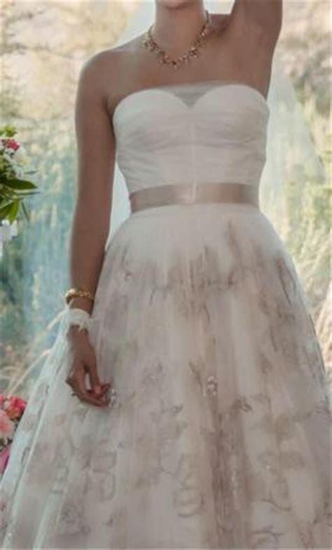 Oleg Cassini CQG614, $350 Size: 2   Used Wedding Dresses