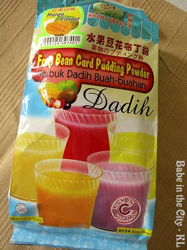 Happy Grass - Fruit Bean Curd Pudding Powder(Mango Flavoured)