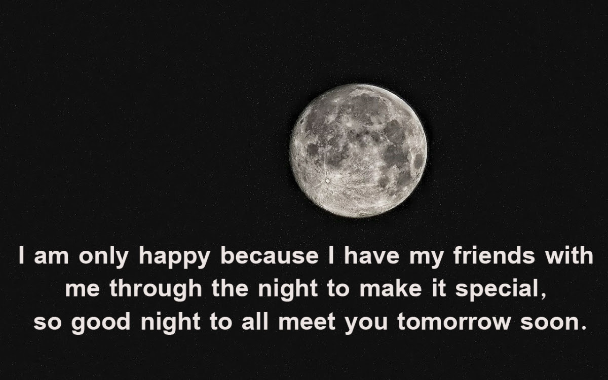 Top 30 Good Night Messages For Friends Wikirote