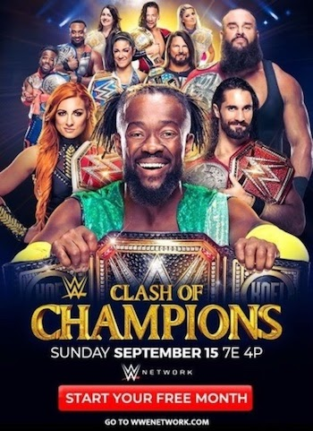WWE Clash Of Champions 2019 PPV WEBRip 720p 480p x264 800MB
