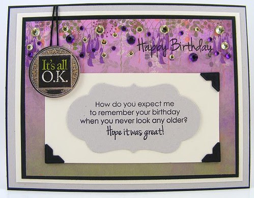 OK Birthday Card