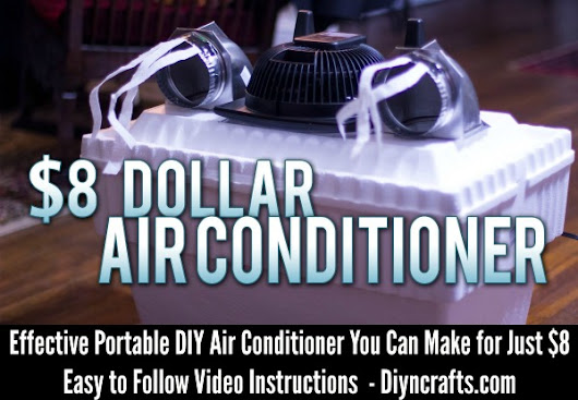 Effective Portable DIY Air Conditioner You Can Make for Just $8 - DIY & Crafts