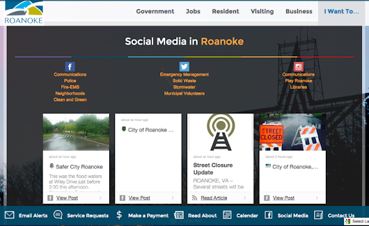 Follow Friday: The City of Roanoke, VA - ArchiveSocial