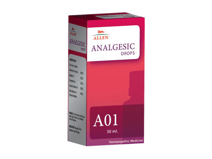 Allen A01 Analgesic Drops, Homeopathy for Neuralgic Pains - Homeopathy Remedies