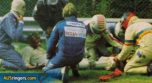 AUSringers.com » Niki Lauda's crash at 1976 Nürburgring GP ...