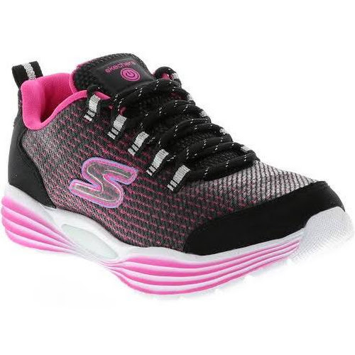 bf3ec1fa140c Skechers Girls  S Lights  Luminators Luxe Sneakers Black 7.0L ...