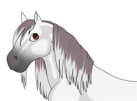 anime cartoon horse    aftermath  deviantart