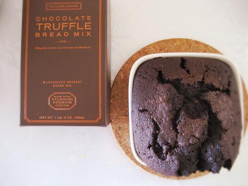 chocolate truffle bread