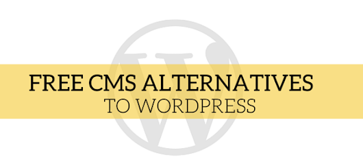 Free CMS Alternatives to WordPress - The Hive