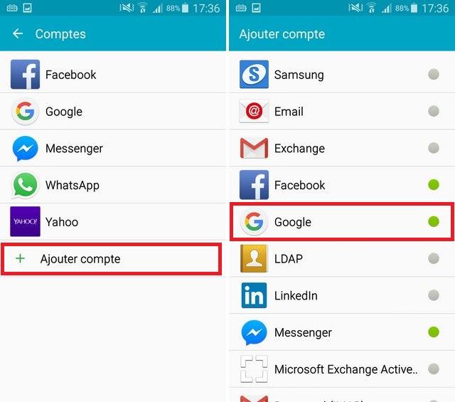 Comment Ajouter Et Supprimer Un Compte Google Sur Android