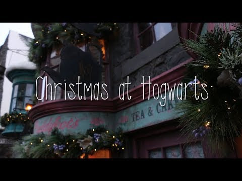 Christmas at Hogwarts in 60 Seconds - vlog