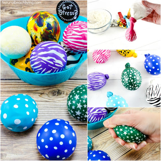 Make Stress Balls Kids Will Love - Natural Beach Living