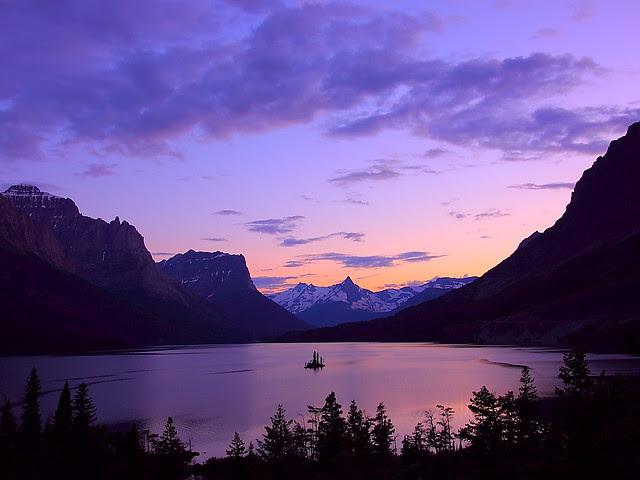IMG_0116 St. Mary Lake, Dusk, Glacier National Park