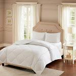 Sleep Philosophy Smart Cool by Microfiber White Coolmax Down Alternative Comforter, Twin