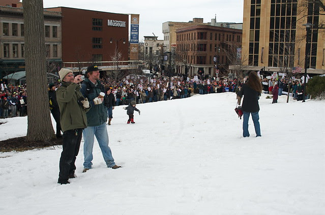 Rally Against Gov. Walker and All He Stands For