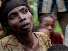 Starving villagers in southern Ethiopia