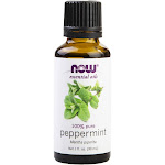 NOW Foods Essential Oils 100% Pure Peppermint 1oz. Aromatherapy
