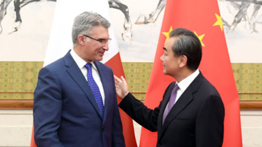 China and Malta to contribute to open, free world economy