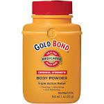 Gold Bond Original Strength Medicated Triple Action Relief Body Powder 1 Oz. Plastic Bottle