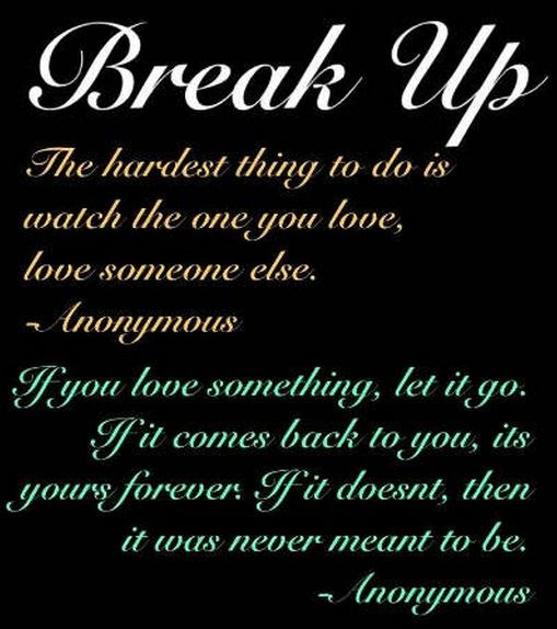 Quotes About Break Up English 19 Quotes