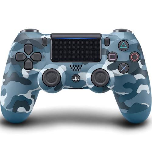 Sony DualShock 4 Wireless Controller, Blue Camouflage