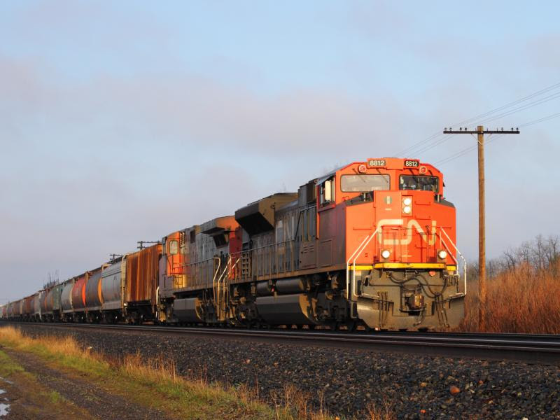 CN 8812 in Winnipeg