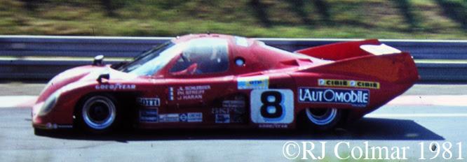 Rondeau M379, Le Mans